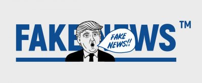 Marque FAKE NEWS contre TRUMP