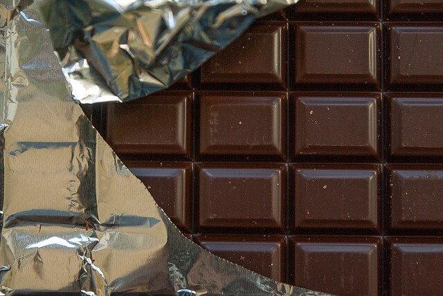 marque de forme - chocolat - tablette